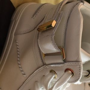 Aldo Shoes - Aldo Cassis Size 10 High Tops w/gold accents
